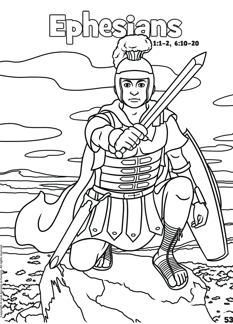 Ephesians: Books of the Bible Coloring (Kids Coloring