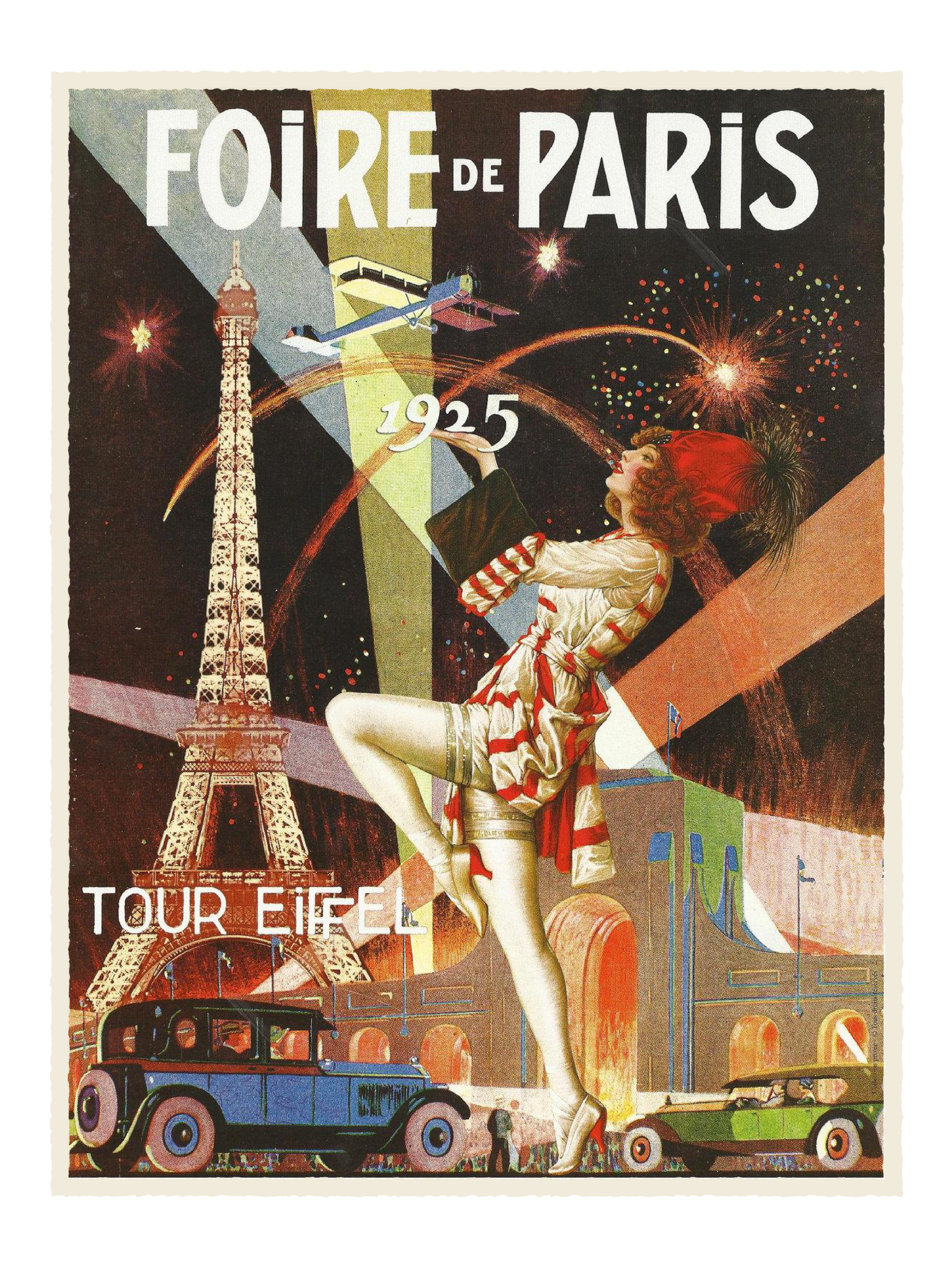 art poster Vintage deco