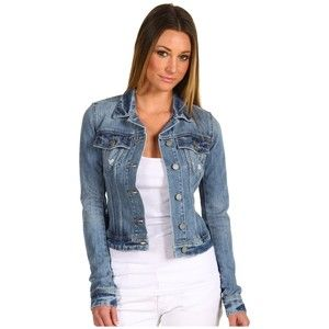 Fitted Denim Jackets For Womens - My Jacket