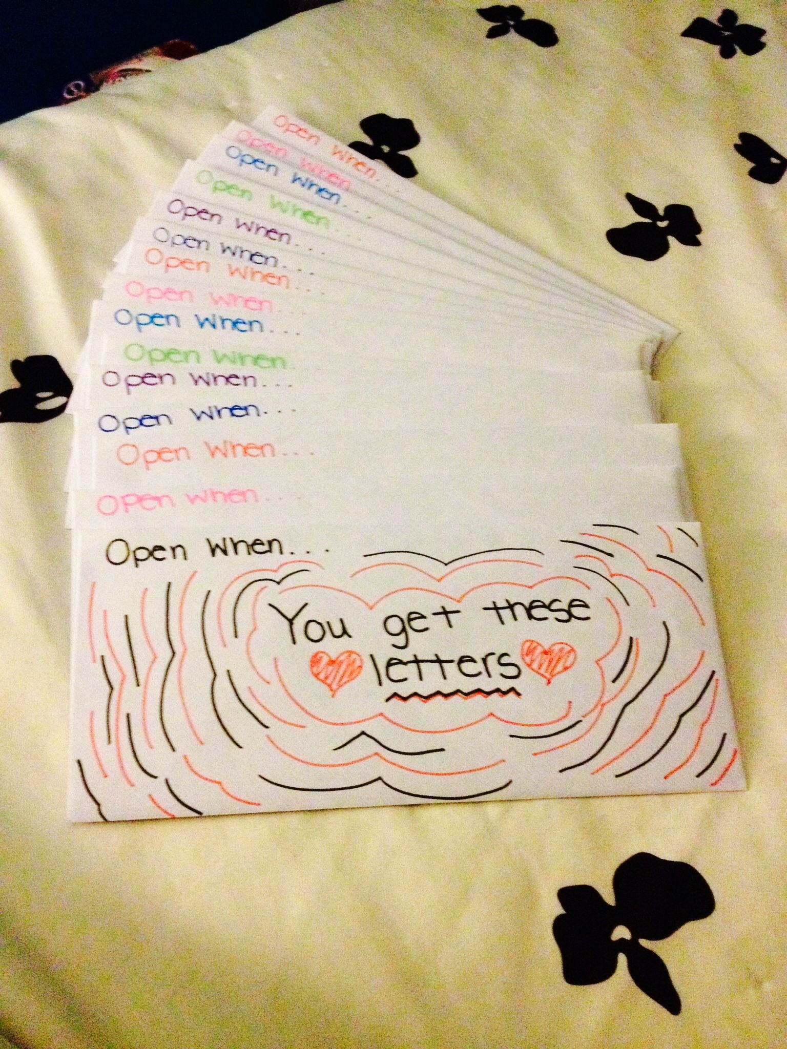 Open When Letters For Boyfriend Friend Sibling Cousin This Is Such A Cute Idea