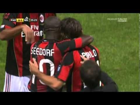 L'ultimo goal di Andrea Pirlo al Milan (last goal of Pirlo with A.C. Milan)