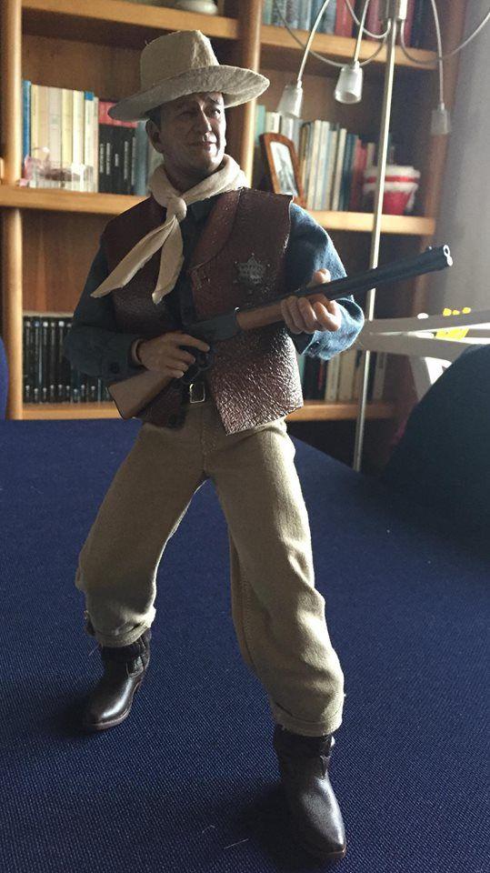 John Wayne Action Figure The Duke As Sheriff John T Chance In Rio
