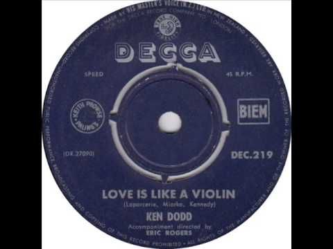 """Ken Dodd - """"Love Is Like A Violin"""" - YouTube"""