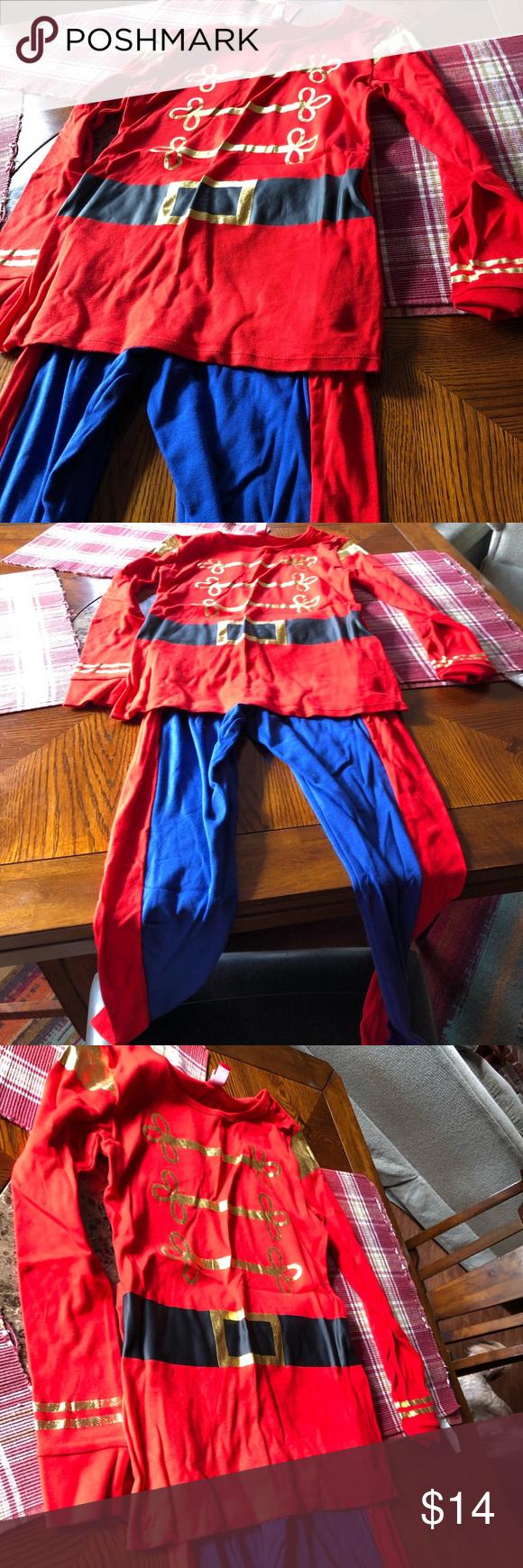 Toy soldier / nutcracker costume or Pajamas Nutcracker