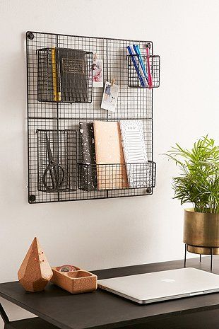 Wire wall grid tumblr bedrooms pinterest - Wandgitter garderobe ...