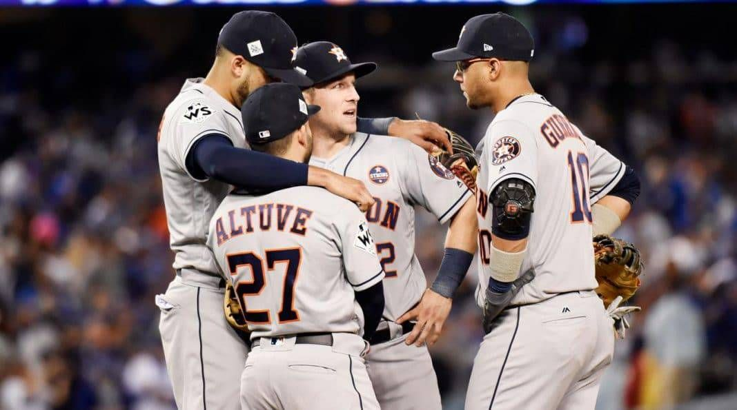 2020 World Series Odds Astros Under Scrutiny World