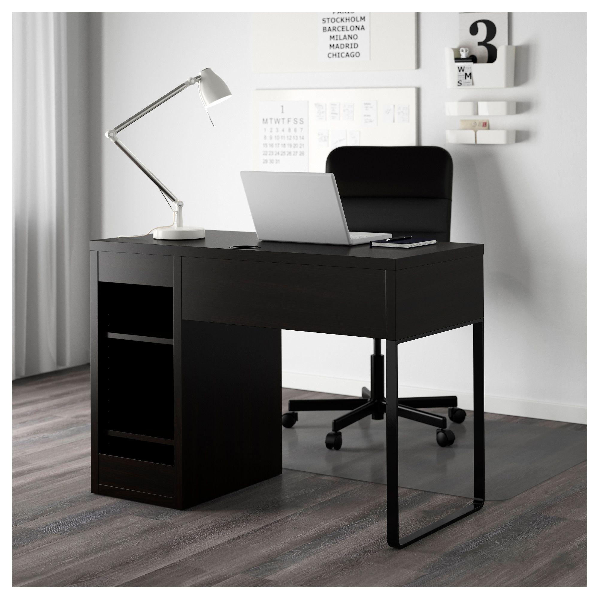99+ Ikea Black Computer Desk Modern Home Office