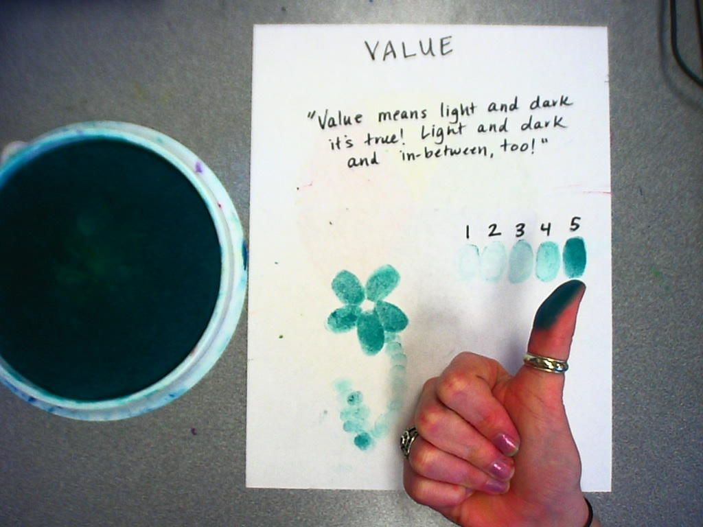 A Cute Lesson To Use To Teach The Element Of Art Value