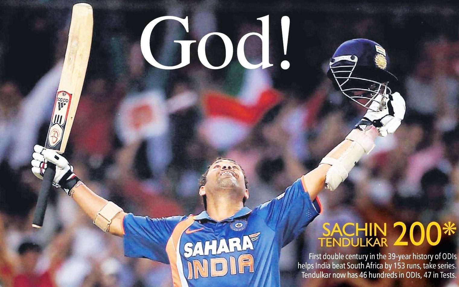 Sachin Tendulkar declares retirement from ODI cricket ...