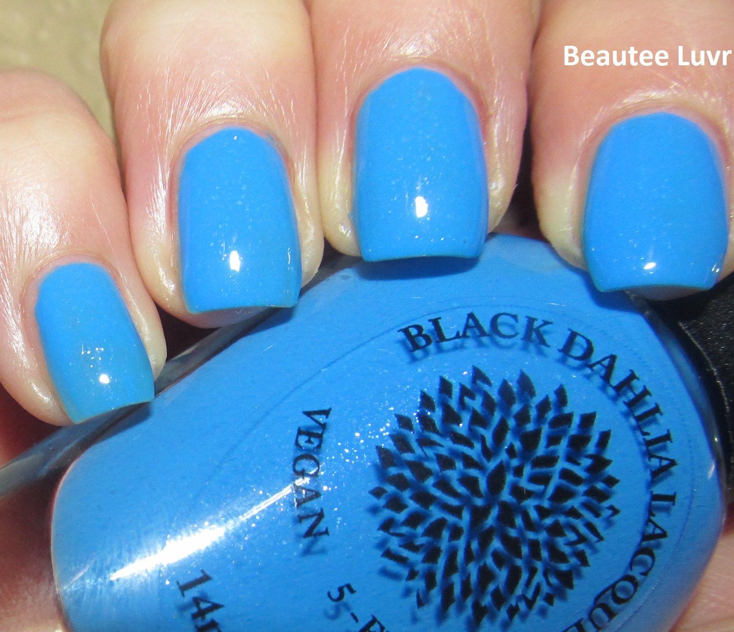 Black Dahlia Lacquer Blue Bonnet Bingo, from the Capital Collection ...