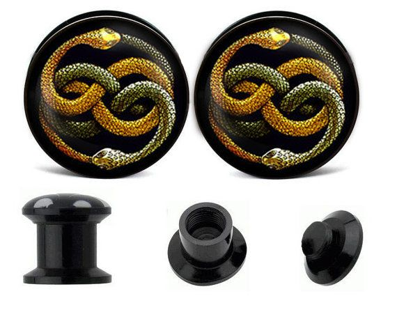 Auryn Neverending Story ear plugs create your own by zhbracelet, $11.99