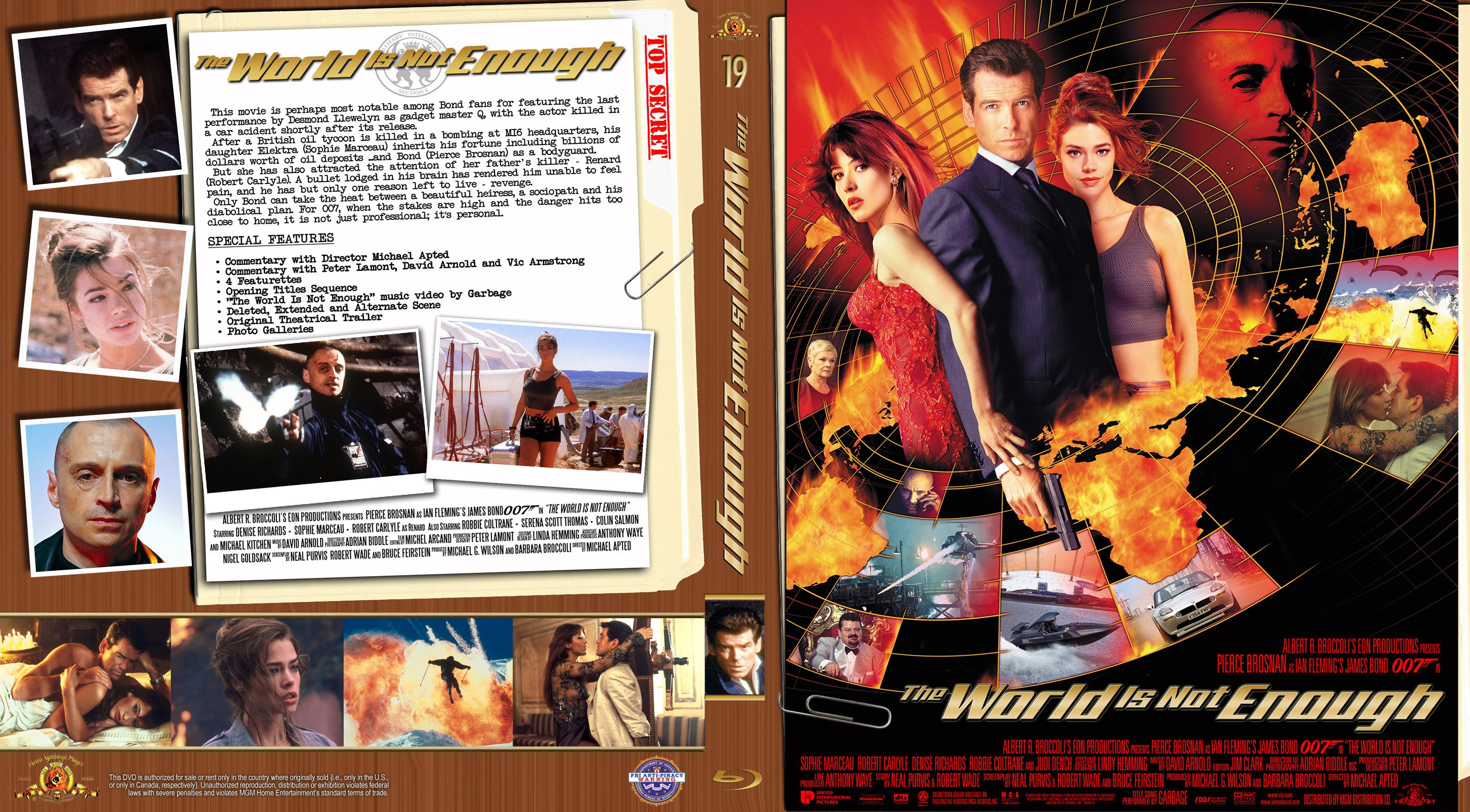 I Created This Stylized Manila Series Blu Ray Custom Cover For