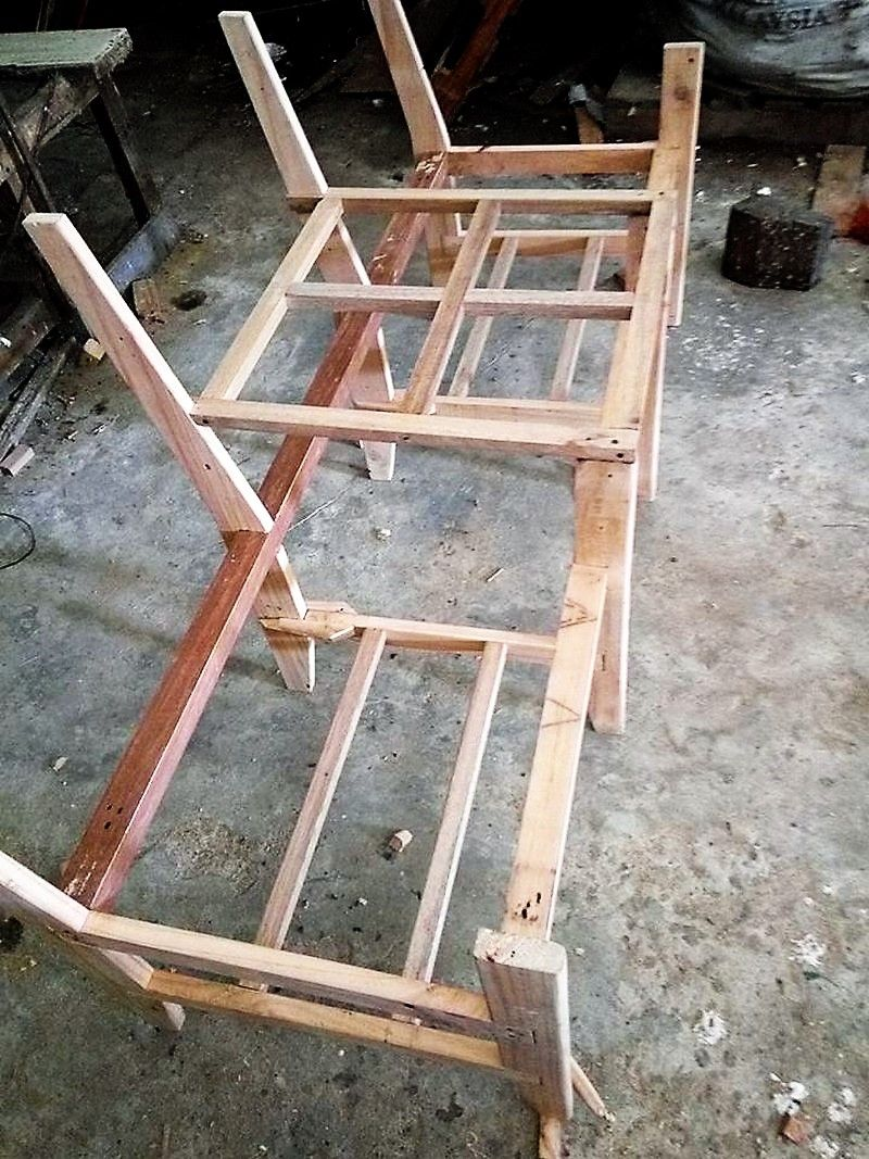 pallet diy chairs ideas