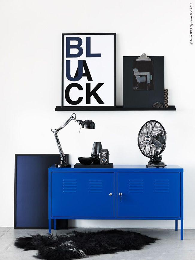 Resultado de imagen de ikea ps armario azul ikea crea tu - Armarios oficina ikea ...