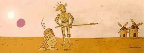 El Quijote galáctico
