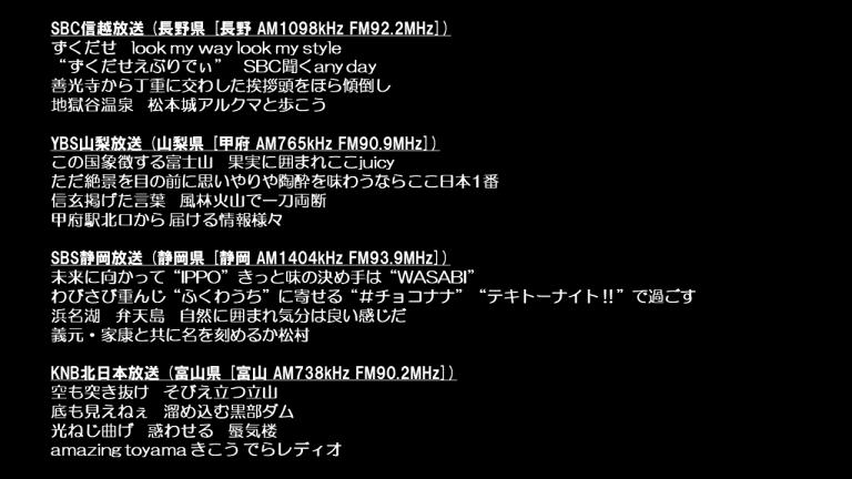ラジオ sixtones Media Info(SixTONES)