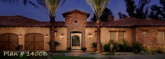 Home Plans House Plan Courtyard Home PlanSanta Fe Style Home