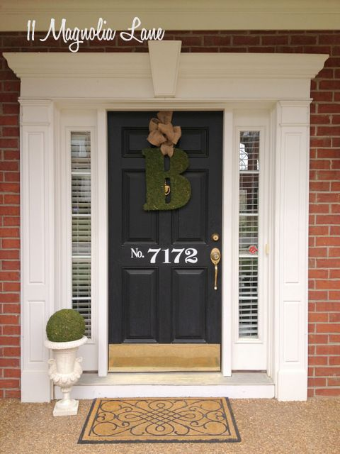 Nice How To Make That Rental House Into A Home:10 Decorating Tips. Front Door  NumbersDiy ...