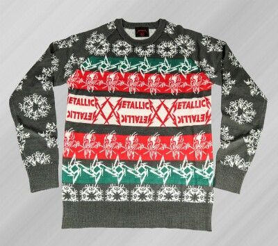 metallica ugly christmas sweater - Metallica Christmas Sweater