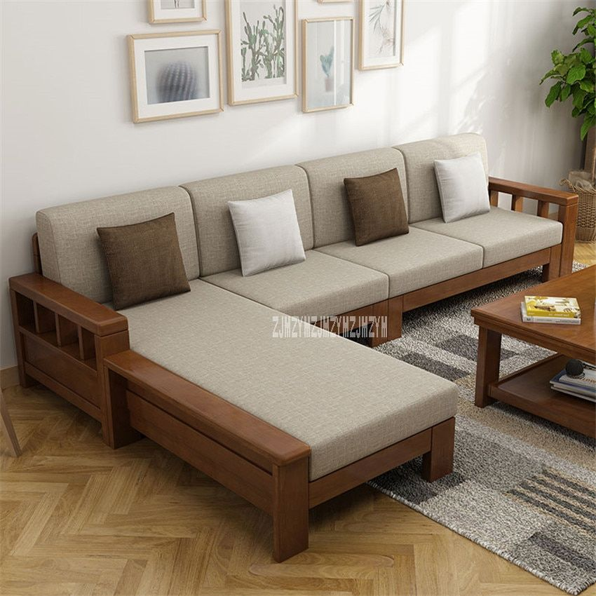 Wooden Living Room Sofa Set In 2020 Wooden Sofa Designs Living Room Sofa Set Living Room Sofa Design