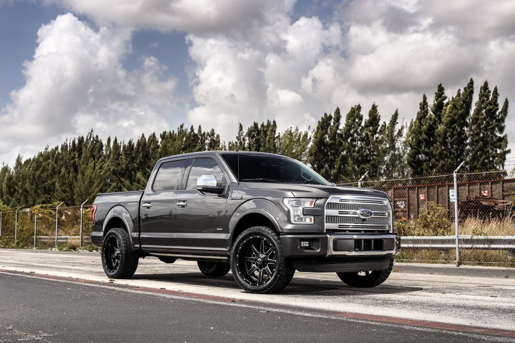 exclusive motoring ford f150 platinum on 22u2033 fuel offroad wheels