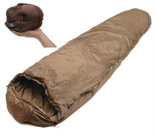 """The most popular Snugpak bag worldwide. Its combination of lightweight Pertex fabrics, Softie insulation and Reflectatherm make it a world beater. A two Season, lightweight sleeping Bag with Compression Stuff Sack, profiled (unquilted) snuggy hood, zip baffle, circle reinforced foot (olive green only) , hanging dry taps and anti-snag, two way Zip Weight : 27oz Packs to : 11"""" x 6"""" (uncompressed) Comfort Temperature: 41 F Low Temperature: 32 F NSN # 8465-99-815-7106 Full Zip"""