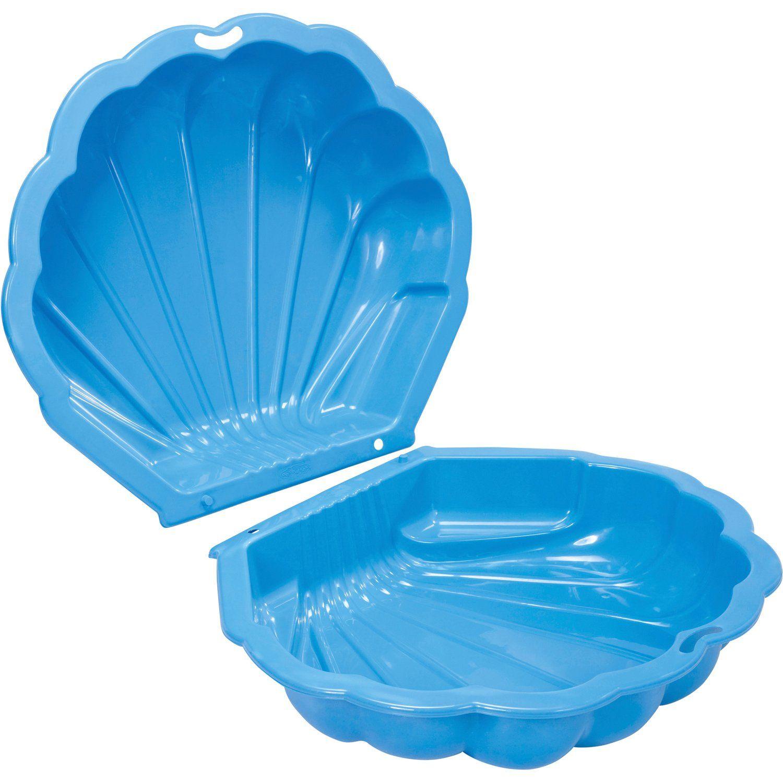 Hochwertiger Kunststoff • 2-teilig • Für Sand und Wasser ✓ Sand- und Wassermuschel Blau ➜ Badespaß bei OBI kaufen! OBI Baumarkt & Online-Shop