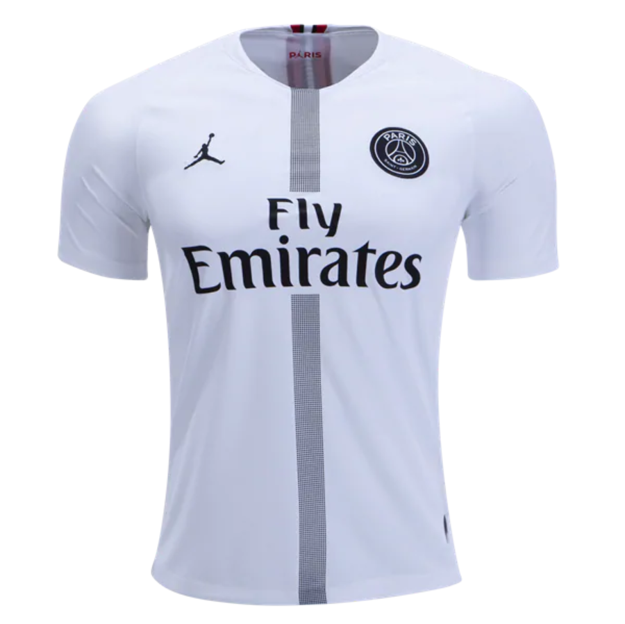sports shoes 65a6c 19b65 PSG 18/19 Champions League White Men Soccer Jersey ...