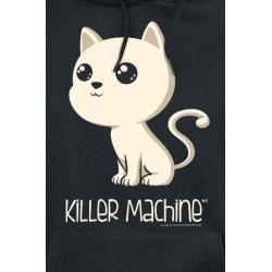 Killer Machine Damen-Kapuzenpullover - schwarz