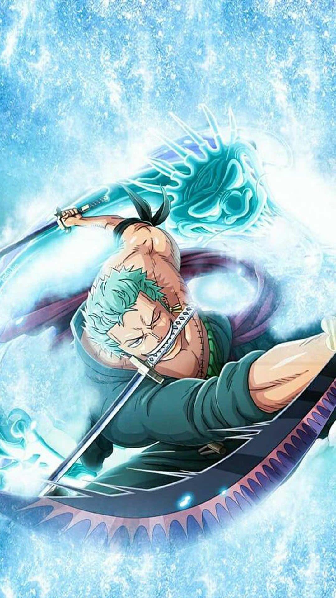 Roronoa Zoro Wallpaper 4 Personagens De Anime One Piece Anime One Piece Personagens