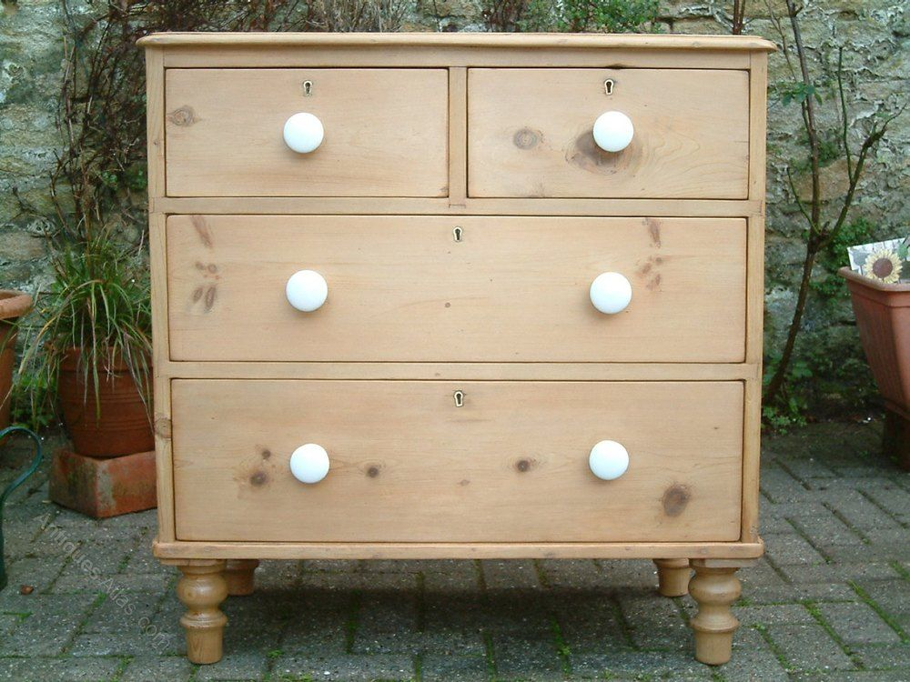 A Restored Victorian Antique Pine Chest Of Drawers Antiques Atlas Antique Pine Furniture Pine Chests Chest Of Drawers