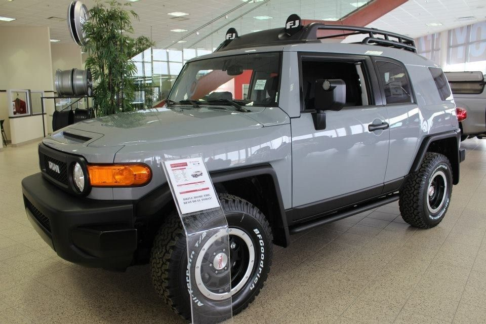from the showroom 2013 fj cruiser trd trail teams country hills toyota pinterest 4x4. Black Bedroom Furniture Sets. Home Design Ideas
