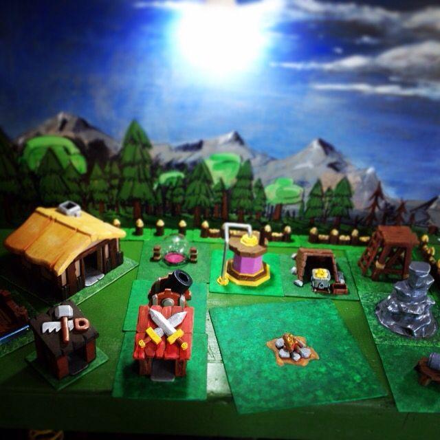 Real life Clash of Clans village  #clashofclans | Minecraft | Clash