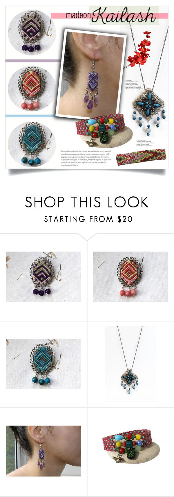 """""""My own creations: MadeOnKailash"""" by mahafromkailash ❤ liked on Polyvore"""