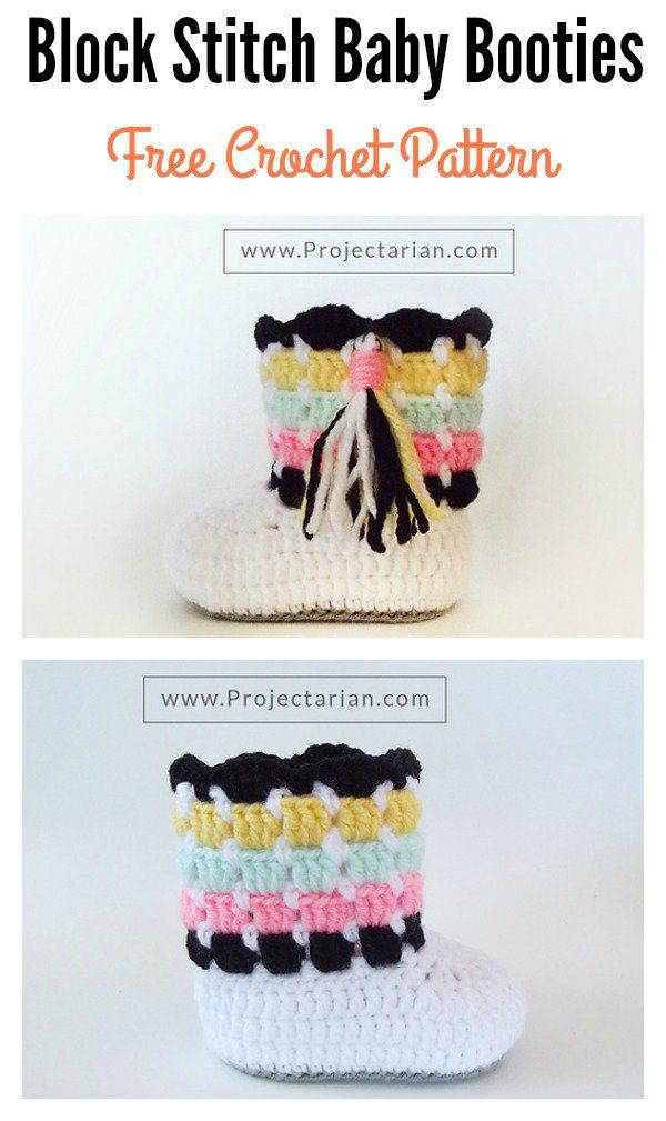 Beautiful Block Stitch Free Crochet Patterns and Projects | George ...