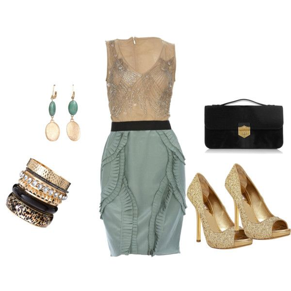 Date Night by bellablue9 on Polyvore