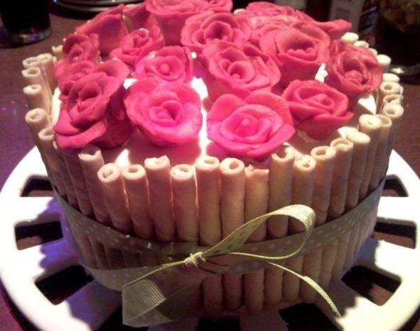 Happy birthday roses pic