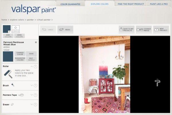 pin on ideas for the house on valspar virtual paint a room id=62669