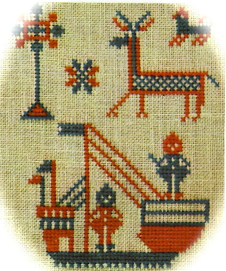 Noah/'s Ark DIY Chart Counted Cross Stitch Patterns Needlework Embroidery