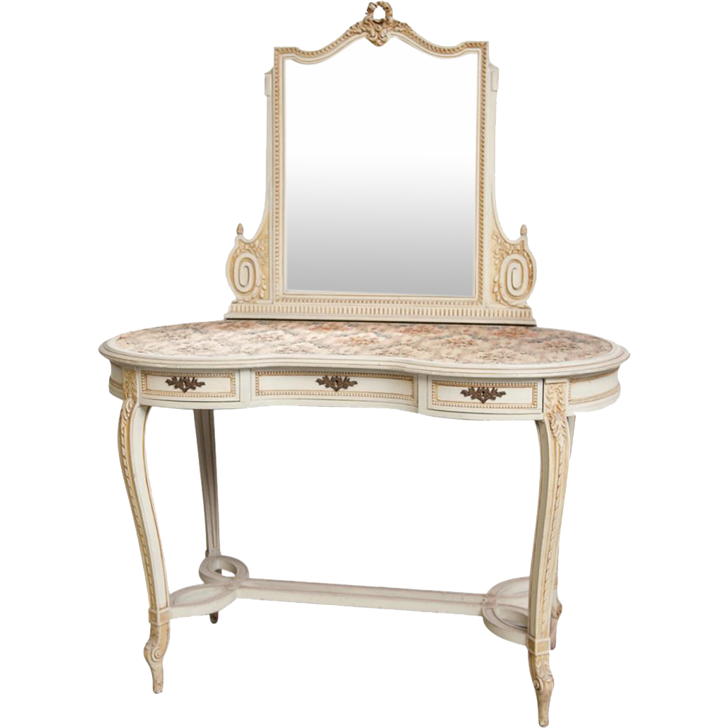 Vintage Vanity Dressing Table With Mirror From Belgium Castle Dressing Table Mirror Vanity Vintage Vanity