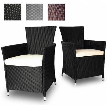 Rattan Sitzgarnitur Für Den Außenbereich. Günstig Kaufen Bei Jago24.de |  Rattan Seat Set