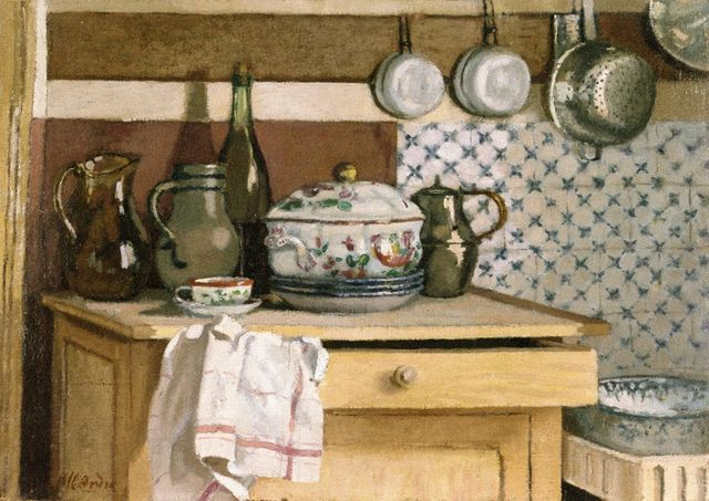 Albert André - The Kitchen by irinaraquel, via Flickr Pintura