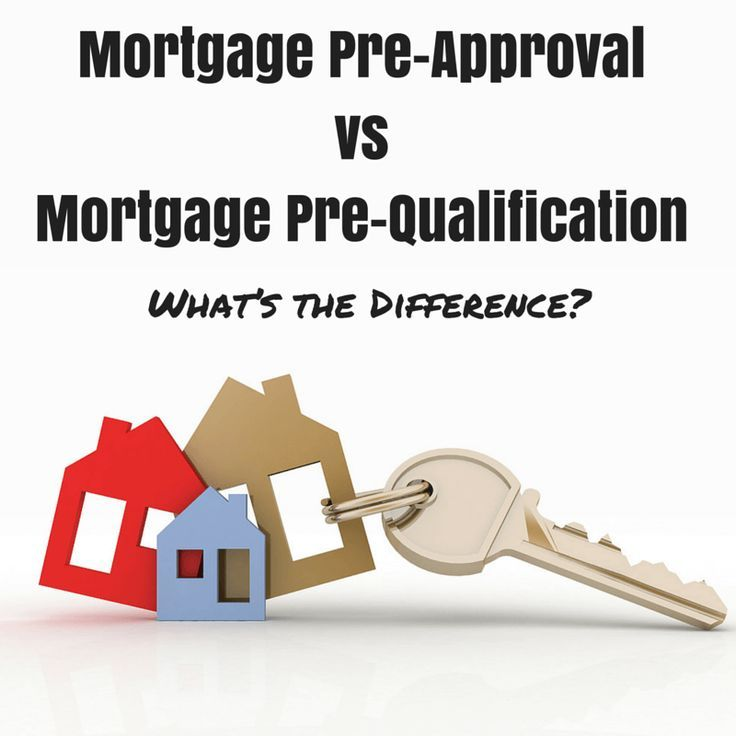 What's The Difference Between A Mortgage Pre-approval And