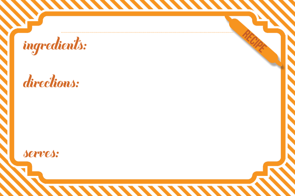 Contact Support Printable Recipe Cards Recipe Cards Printable Free Recipe Cards