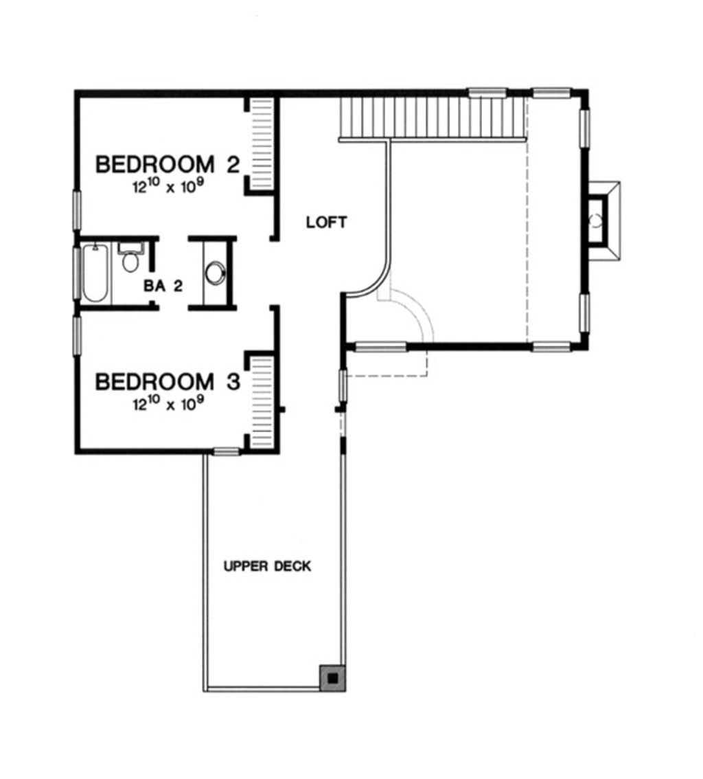 Houseplans with 2 master bedrooms  Modern Style House Plan   Beds  Baths  SqFt Plan