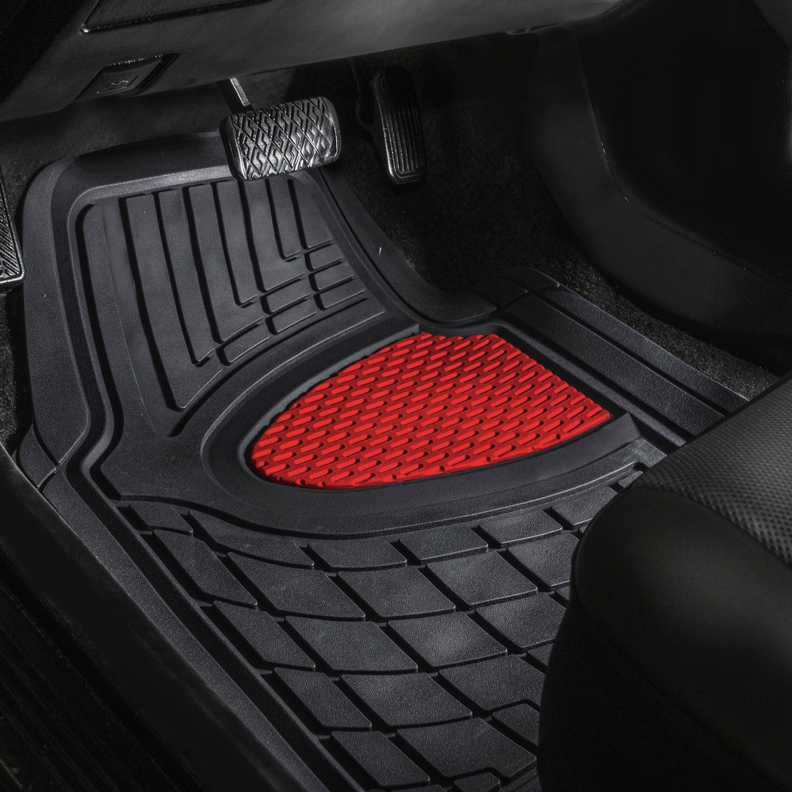 Cool Awesome Car Floor Mats for Auto Car SUV 4pc Set All Weather
