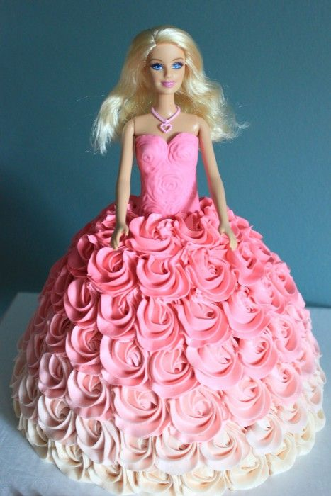 Terrific Pin By Almicaaa On Barbie Birthday Cake In 2020 Barbie Doll Birthday Cards Printable Opercafe Filternl