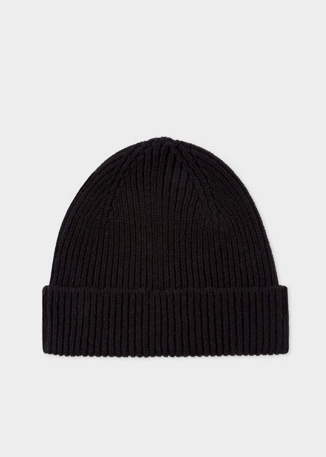 8447008f0 Paul Smith Men's Black Cashmere-Blend Beanie Hat in 2019 | Products ...