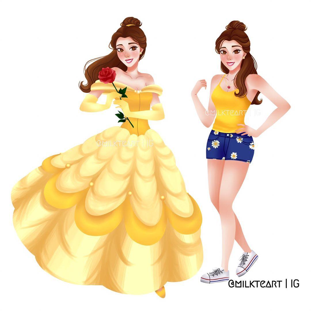 Modern Belle Beauty u0026 the Beast was spectacular ?  sc 1 st  Pinterest & Modern Belle Beauty u0026 the Beast was spectacular ? | Disney Art ...
