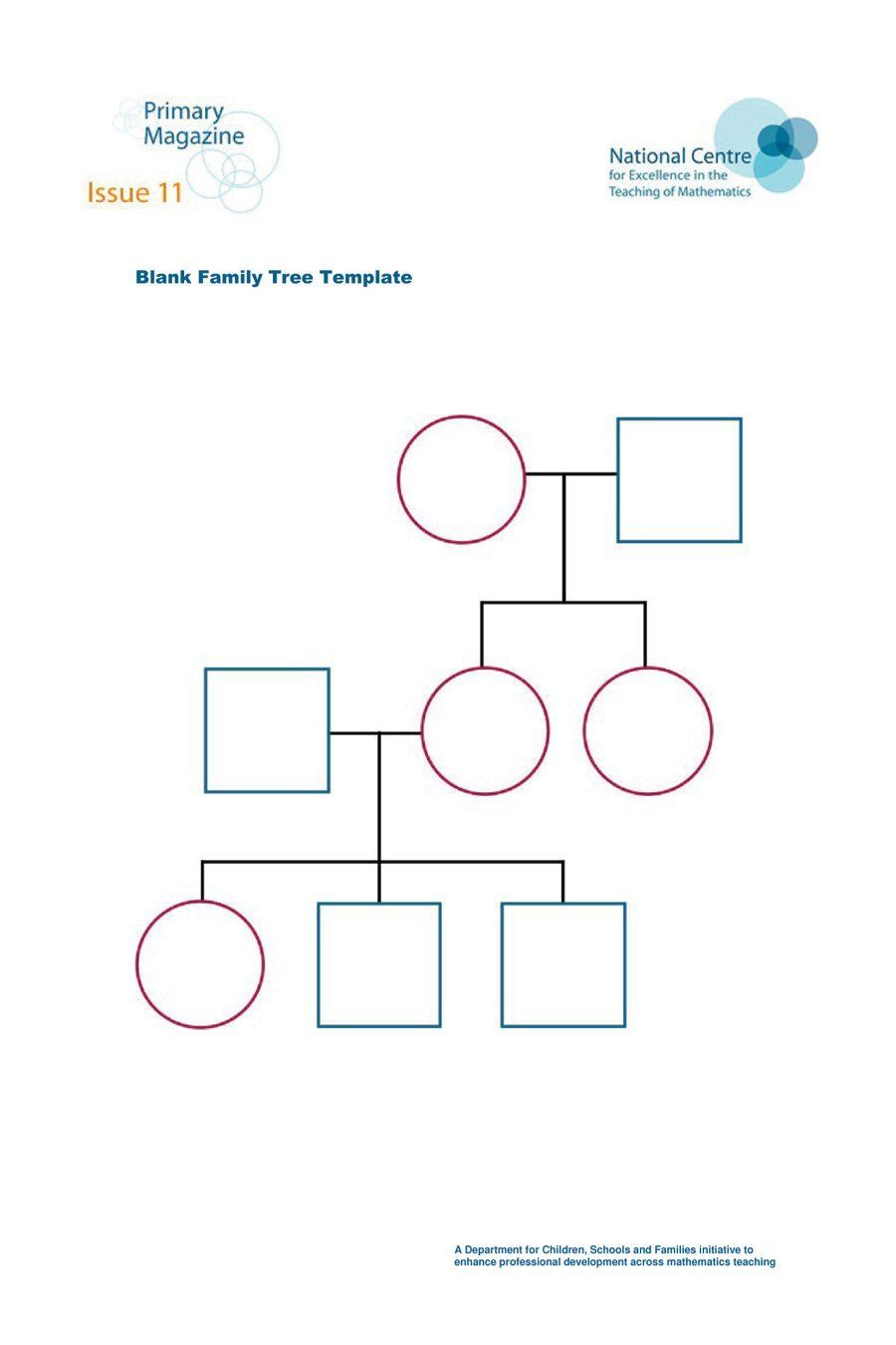 Family Diagram Template - Zohre.horizonconsulting.co ...